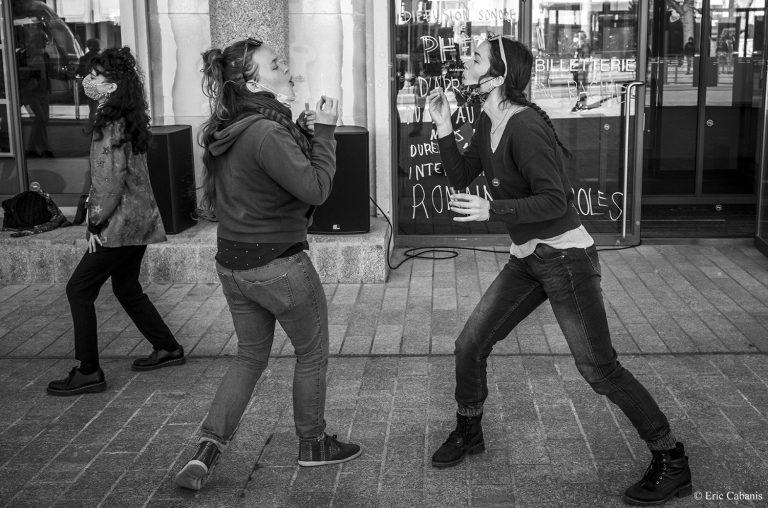 danseurs pour la culture en danger occupation de la comédie de clermont-ferrand